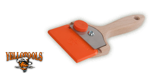 YELLOBLADE HANDLE I MANER RACLETA YELLOBLADE ORANGE