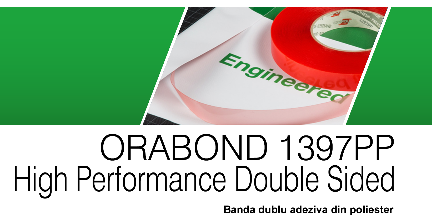 ORABOND 1397PP High Performance Double Coated Tape