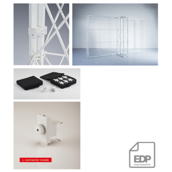 CONECTOR DE COLT 360 GRADE PENTRU POP-UP SYSTEMS LONDON