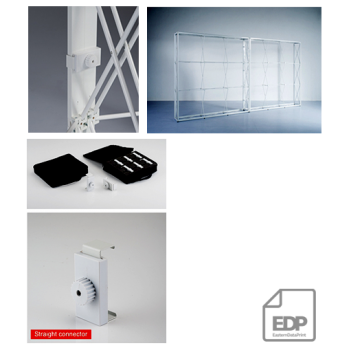 CONECTOR DREPT 180 GRADE PENTRU POP-UP SYSTEMS LONDON