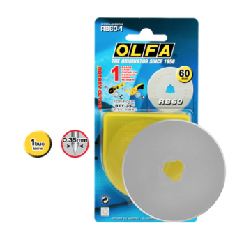 LAMA CUTIT DISC OLFA MODEL RB60-1